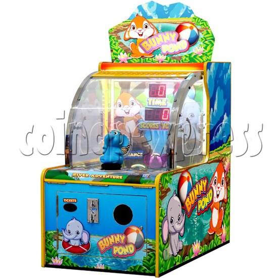 Bunny Pond Single Player Water Gun Shooting Game Machine 35972