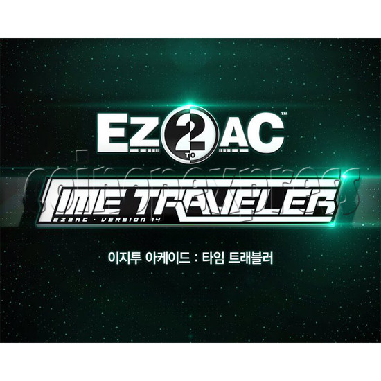 EZ2 AC Time Traveller Full Game Board Kit - Artwork 35988
