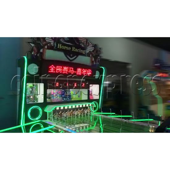 Multiplayer Horse Racing Arcade Game machine 10 players - LED display