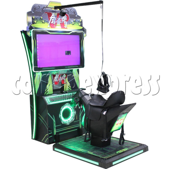 Tiger Knight VR Coin Operated Horse Racing Simulator Game machine 36059