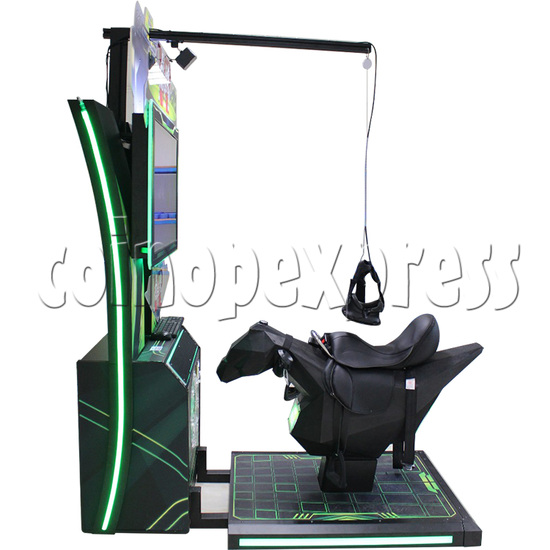 Tiger Knight VR Coin Operated Horse Racing Simulator Game machine 36061