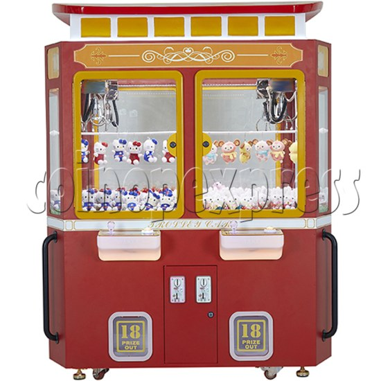 Trolley Car Crane machine ( 4 players) 36082