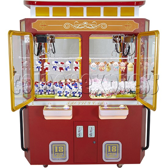 Trolley Car Crane machine ( 4 players) 36083
