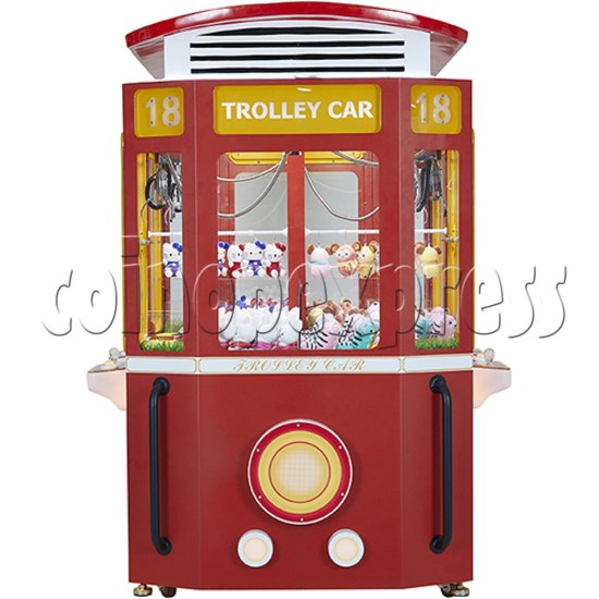 Trolley Car Crane machine ( 4 players) 36084