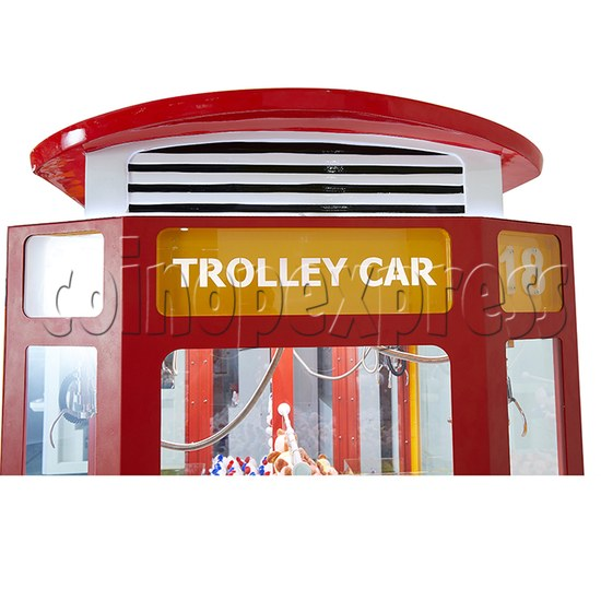 Trolley Car Crane machine ( 4 players) 36085