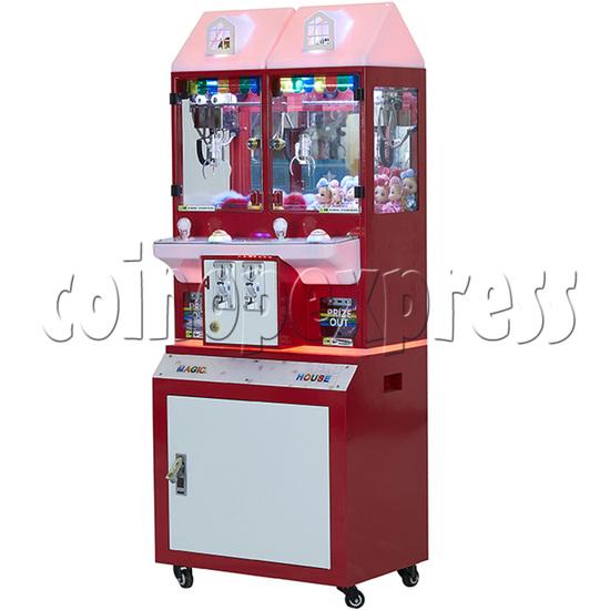Mini Magic House Crane machine (2 players) 36091