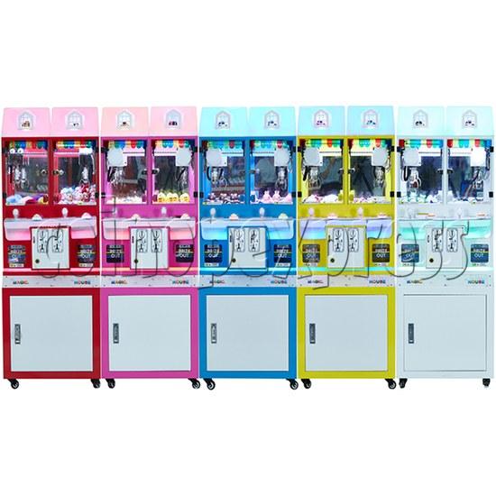 Mini Magic House Crane machine (2 players) 36101