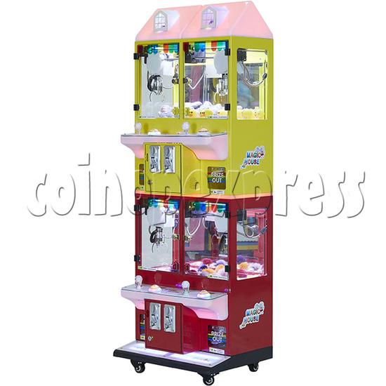 Mini Magic House Crane machine (4 players) 36106