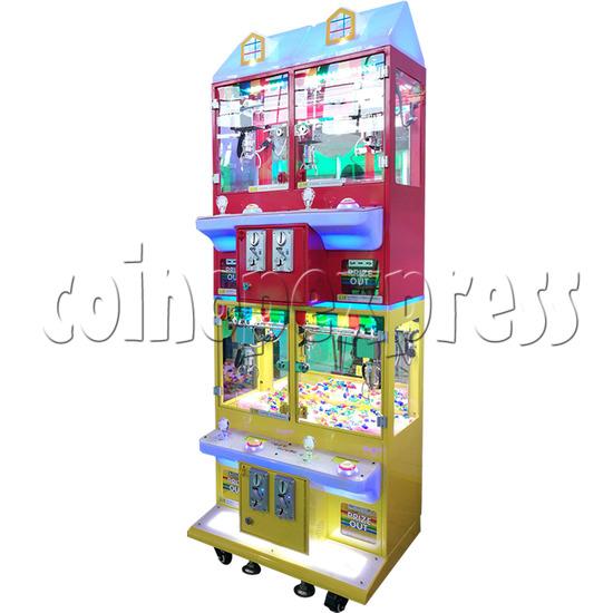 Mini Magic House Crane machine (4 players) 36108