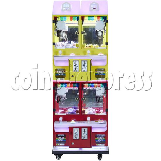 Mini Magic House Crane machine (4 players) 36109