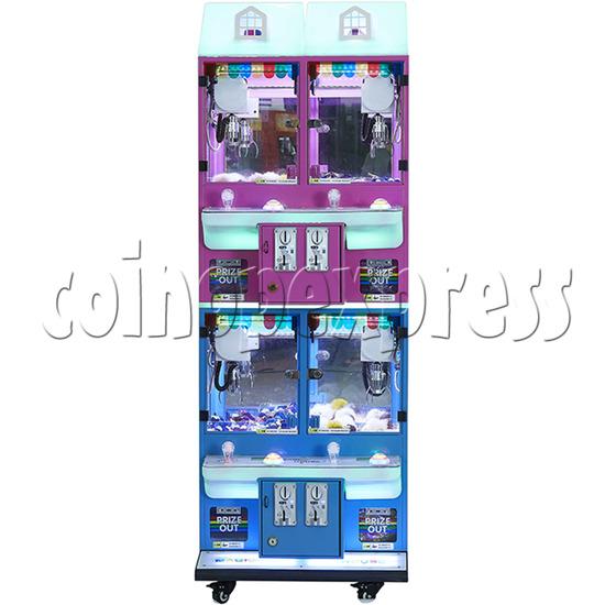 Mini Magic House Crane machine (4 players) 36110