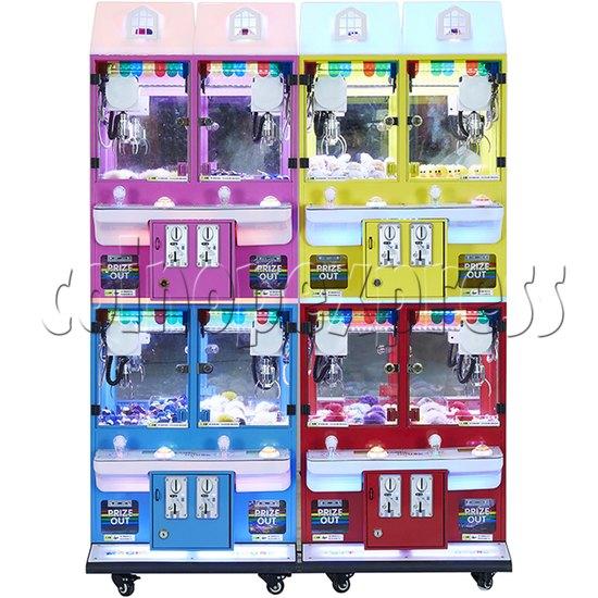 Mini Magic House Crane machine (4 players) 36111