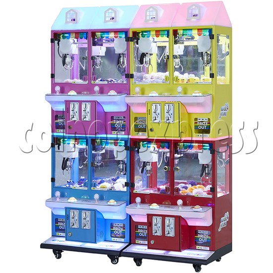 Mini Magic House Crane machine (4 players) 36113