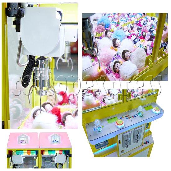 Mini Magic House Crane machine (4 players) 36115