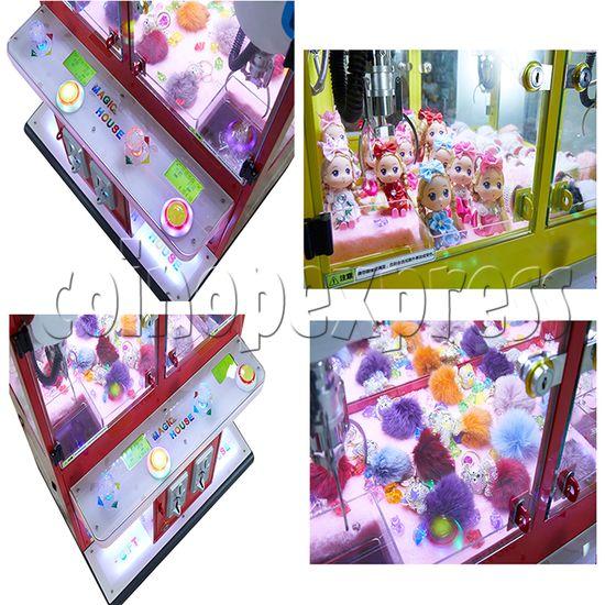 Mini Magic House Crane machine (4 players) 36116