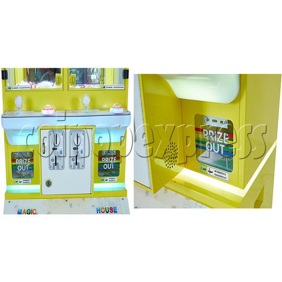 Mini Magic House Crane machine (4 players) 36117