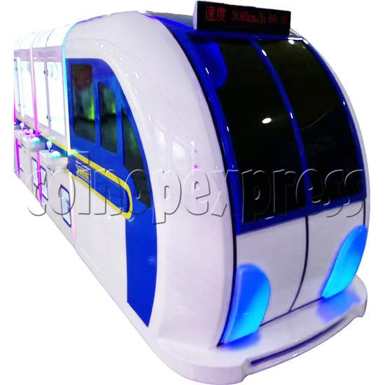 High-Speed Train Happy Travel Crane Games Machine (8 players) 36170