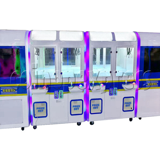 High-Speed Train Happy Travel Crane Games Machine (8 players) 36173