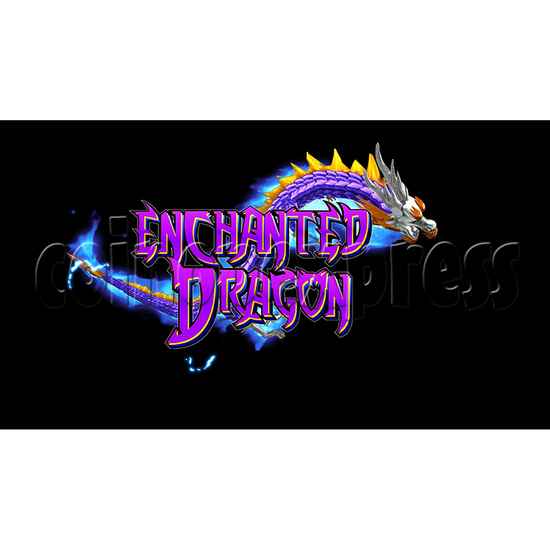 Enchanted Dragon Video Fish Hunter Full Game Board Kit - game logo