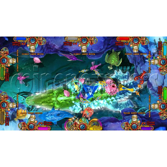Enchanted Dragon Video Fish Hunter Full Game Board Kit - screen display - 4