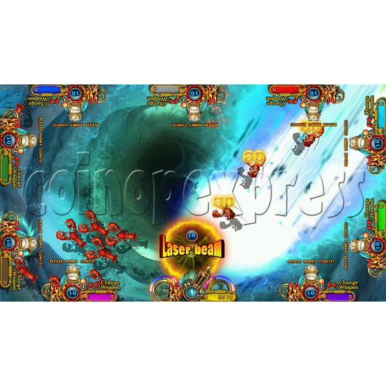 Enchanted Dragon Video Fish Hunter Full Game Board Kit - screen display - 17