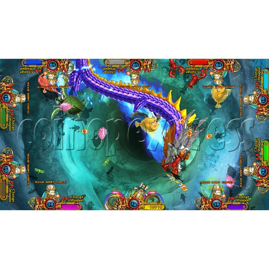 Enchanted Dragon Video Fish Hunter Full Game Board Kit - screen display - 23