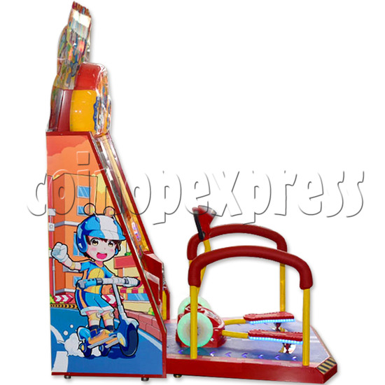 Happy Scooter Skiing Sport Game For Kids 36240