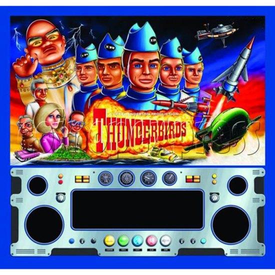 Thunderbirds Pinball Arcade Game Machine 36255
