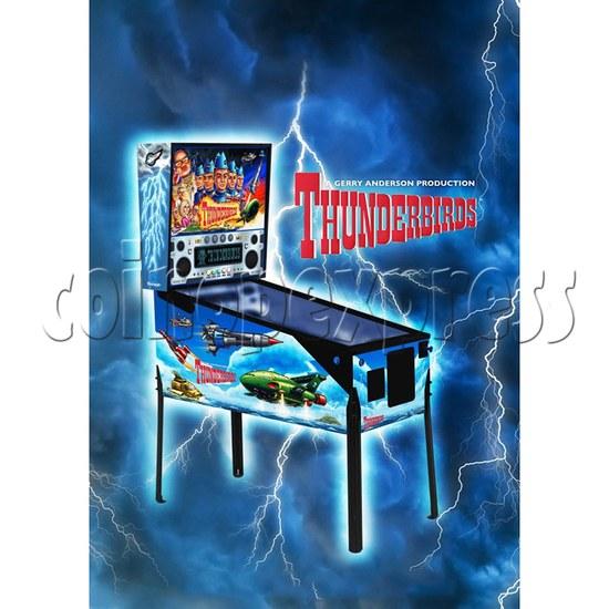 Thunderbirds Pinball Arcade Game Machine 36256