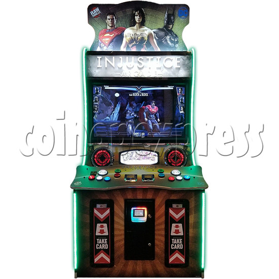 Injustice Arcade Card Game Machine ( 2 players )  36333