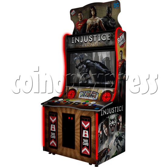 Injustice Arcade Card Game Machine ( 2 players )  36334