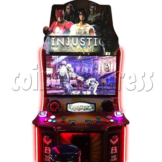 Injustice Arcade Card Game Machine ( 2 players )  36336