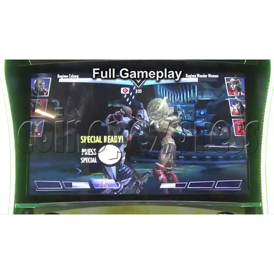 Injustice Arcade Card Game Machine ( 2 players )  36338