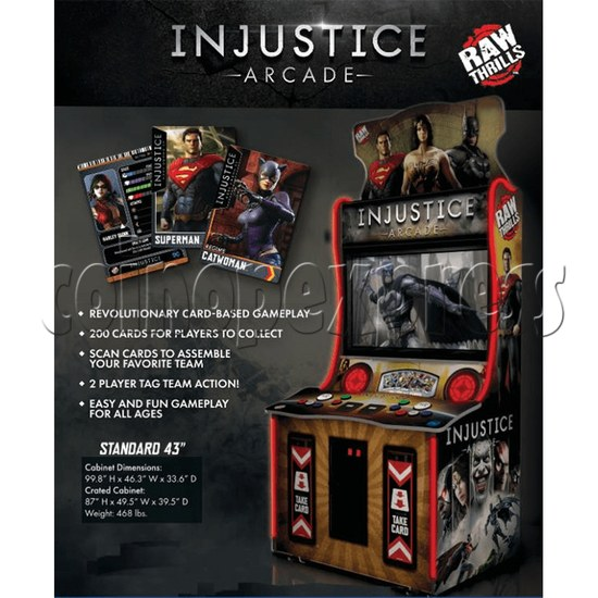 Injustice Arcade Card Game Machine ( 2 players )  36342