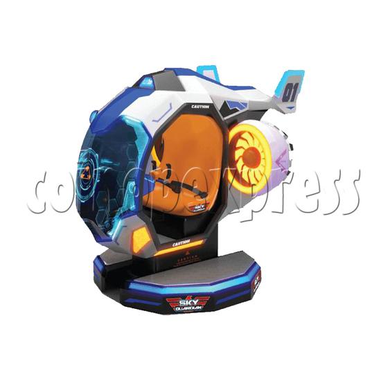 Sky Guardian Rotating Video Kiddie Ride (2 players) 36343