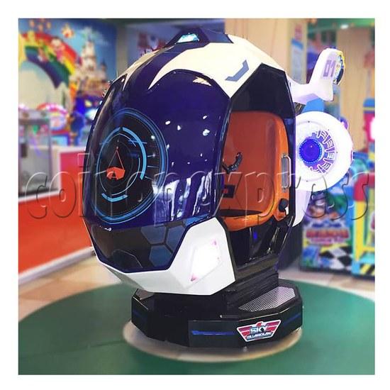 Sky Guardian Rotating Video Kiddie Ride (2 players) 36346