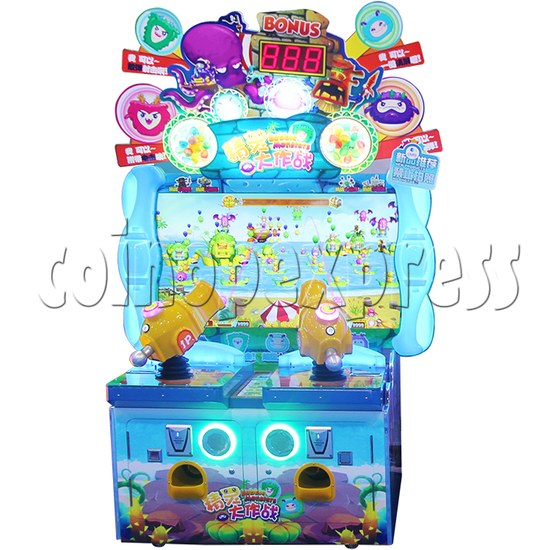 Bubble Monster Laser Gun Shooting Game machine 36357