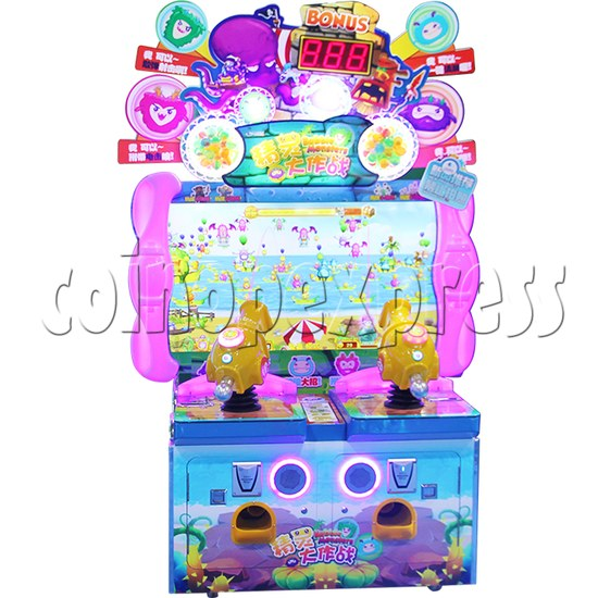 Bubble Monster Laser Gun Shooting Game machine 36358