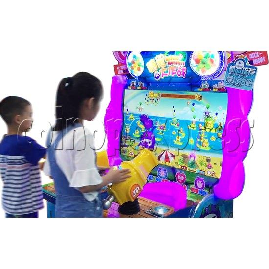 Bubble Monster Laser Gun Shooting Game machine 36359