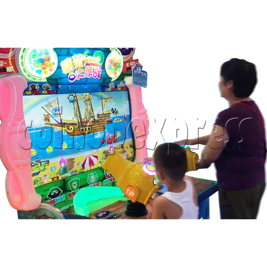 Bubble Monster Laser Gun Shooting Game machine 36360