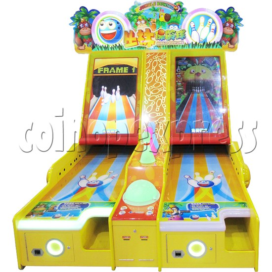 Jungle Video Bowling machine (2 lanes) 36362