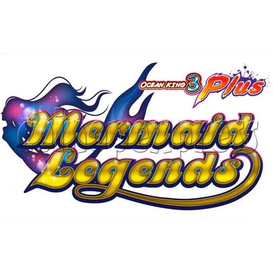 Ocean King 3 Plus Mermaid Legends Fish Game Board Kit China Release Version - game logo