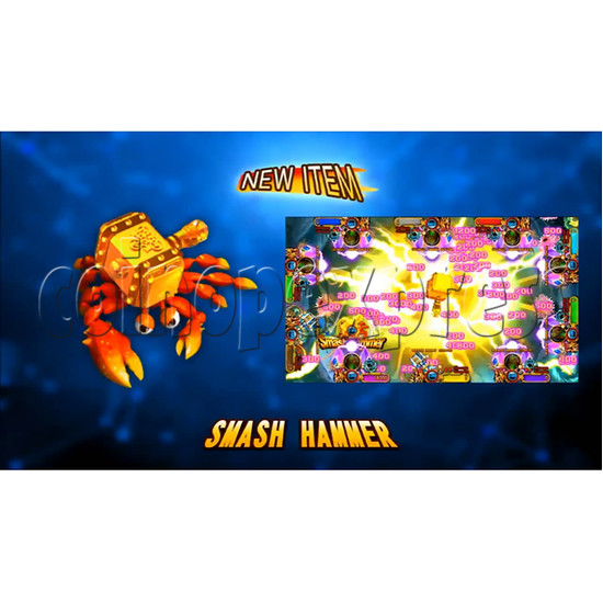 Ocean King 3 Plus Mermaid Legends Fish Game Board Kit China Release Version - screen display-3