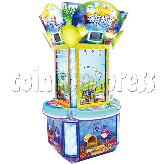 Ocean Park Feeding Fish Redemption Game machine ( 4 players) 36414