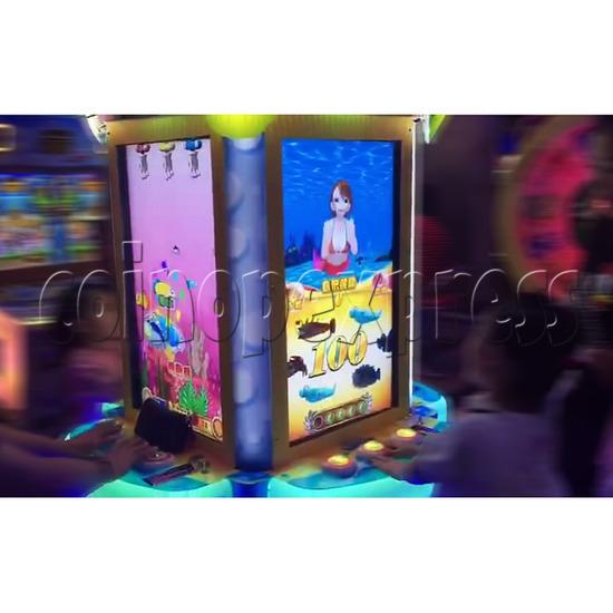 Ocean Park Feeding Fish Redemption Game machine ( 4 players) 36416