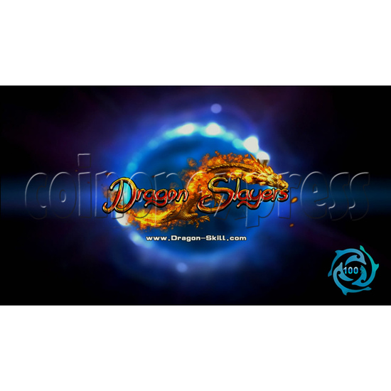 Dragon Slayer Video Fish Game Full Game Board Kit - game logo