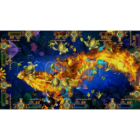 Dragon Slayer Video Fish Game Full Game Board Kit - game play-1