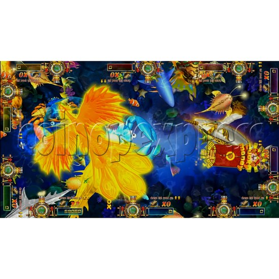 Dragon Slayer Video Fish Game Full Game Board Kit - game play-2