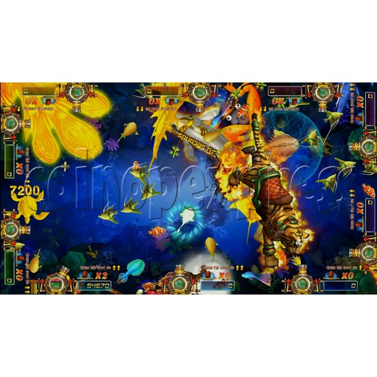 Dragon Slayer Video Fish Game Full Game Board Kit - game play-3