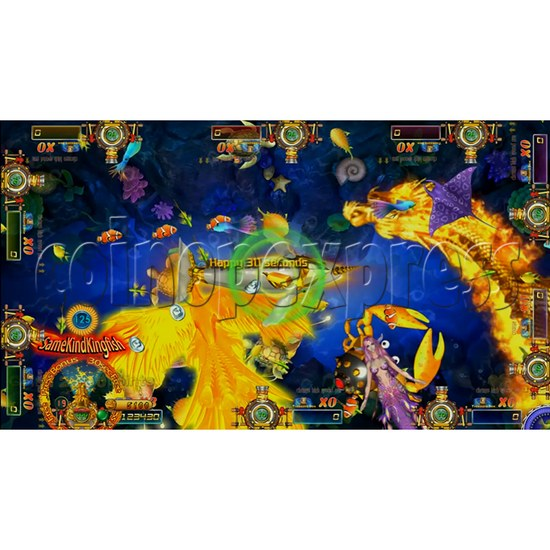 Dragon Slayer Video Fish Game Full Game Board Kit - game play-11